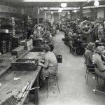Ojop Sweden production line in old days
