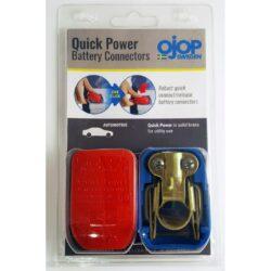 Set of Quick release battery connectors for Automotive