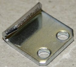 Catch plate produced from Zinc plated Steel 1