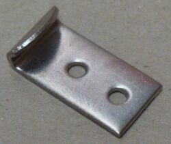 Catch plate produced from Electropolished 304 Stainless Steel 1
