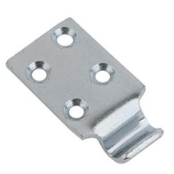 Catch plate Small size Produced from Zinc plated Steel with Countersunk mounting holes.