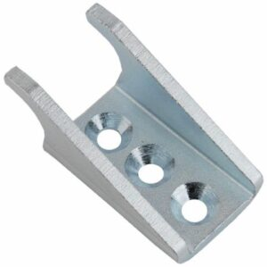 Keeper Extra large size Produced from Zinc plated Steel with Countersunk mounting holes.