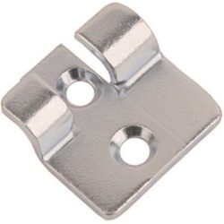 Catch plate Small size Produced from 316 Stainless steel with Countersunk mounting holes.