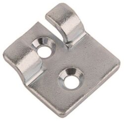 Catch plate Medium size Produced from 316 Stainless steel with Countersunk mounting holes.