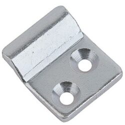 Catch plate Large size Produced from Zinc plated Steel with Countersunk mounting holes.