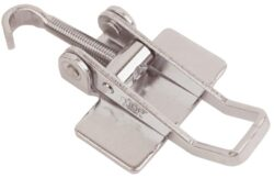 Stainless steel latch Medium size for welding with Hook screw