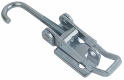 Adjustable Over centre latch Medium size countersunk holes with Hook screw