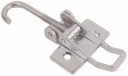 Adjustable Stainless steel Toggle latch Medium size countersunk holes with Hook screw
