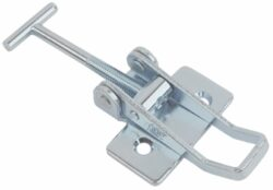 Adjustable latch Medium size countersunk holes with T screw