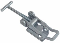 Toggle latch adjustable Medium size countersunk holes with T screw