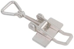 Stainless steel Toggle latch adjustable Medium size for welding with Hinged Triangle screw loop